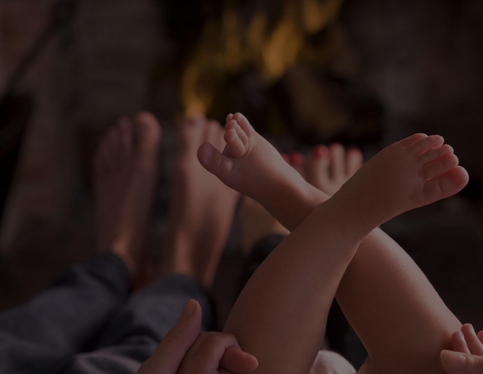 Happy Baby Feet